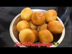 Jamaican Fried Dumplings 🇯🇲 - YouTube Jamaican Fried Dumplings, Flour Dumplings, Trini Food, Dough Balls, Jamaican Recipes, Sweet Potato, Main Dishes, Fries, Baking