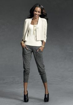 Cute pants! Dawns Early Light - 2 - CAbi Fall 2012 Collection