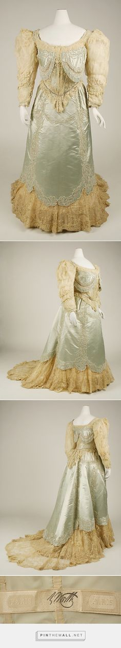 Evening dress by House of Worth 1890s French | The Metropolitan Museum of Art