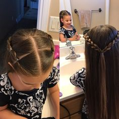 Girls hair beths hair in 2019 peinados cabello corto niña, p Girls Hairdos, Lil Girl Hairstyles, Cute Little Girl Hairstyles, Princess Hairstyles, Hairstyles 2016, Teenage Hairstyles, Girl Haircuts, Braid Hairstyles, Hair For Little Girls