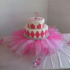 Cake for our little 2 year old! Such a girl!