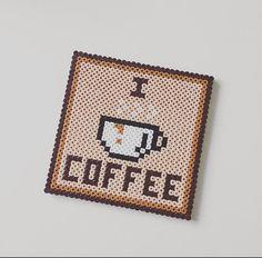 Glass coffee / Coffee Coaster by MayfairPixelShop on Etsy