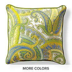 Outdoor Throw Pillows   All Weather Pillows  Monogrammed Outdoor Pillows    Frontgate