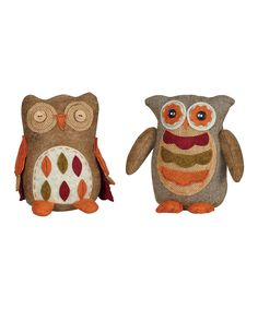 Another great find on #zulily! Owl Figurine Set by Transpac Imports #zulilyfinds