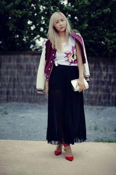 Closet Voyage: The Black Maxi Skirt