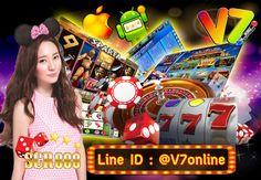 V7 slot online (SCR888) เกมส์สล็อตออนไลน์ที่มาแรงที่สุดในไทย เรามีให้คุณสนุกได้ครบ ที่นี่ ที่เดียว สล็อต บาคาร่า มังกร-เสือ รูเลท กำถั๋ว น้ำเต้าปูปลา ไฮโล เล่นผ่านมือถือได้ 24 ชม. เล่นง่ายจ่ายจริง  สมัครฟรี โปรโมชั่นดีๆรอคุณอยู่นะคะ ID LINE : @V7online