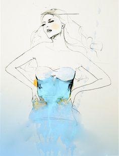 "leigh viner art | Broken Wild"" and ""Fog Teal"" by Leigh Viner"