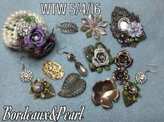 WTW 5/4/16 Working and reworking this collection this week. All brass from B'sue Boutiques.