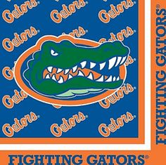 NCAA College University of Florida UF Gators Lunch and Dinner Paper Napkins 20-count Graduation, picnic, tailgate, or Gameday Party  $4.00