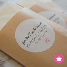 3. Gastgeschenke - ♥ 50 Freudentränen-Taschentücher ♥ handgefertigt - ein Designerstück von ZuckerZauber bei DaWanda