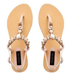 Davy Embellished Sandal - Forever New. For when I can't stand those heels anymore!