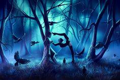 Beautiful Otherworldly Artwork Of Cyril Rolando Cyril Rolando, Crayons Pastel, Couple Manga, George Carlin, Zodiac Calendar, Art Courses, Illustrations, Miyazaki, French Artists