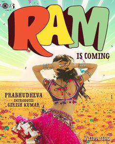 """Shruthi on """"Ramaiya Vastaiya"""" Poster"""