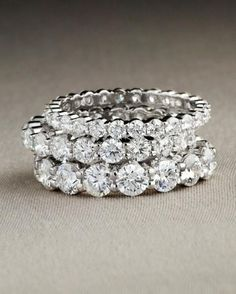 Eternity Diamond Rings