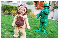 hilarious lion costume and impressive army soldier get-up
