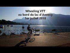 Wheeling VTT au bord du lac d'Annecy 2018