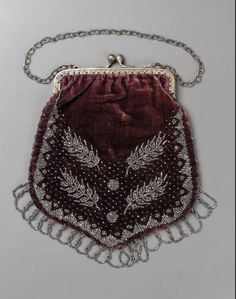 Bag American ca. 19th Century