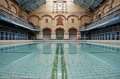 victoria baths manchester - We didn't explore Manchester enough. Didn't know there were Roman Baths in Manchester. ~ Mel
