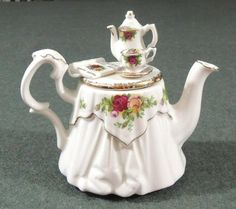 Another Teapot With A Pretty Lid......