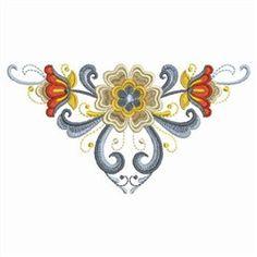 Rosemaling Motif design, would make a nice tattoo