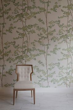 Beech wallpaper features a leaf & tree design in green & cream. Designer wallpapers by Lewis & Wood, worldwide delivery available. Happy Wallpaper, Wood Wallpaper, Green Wallpaper, Scandi Wallpaper, Tree Branch Wallpaper, Tropical Wallpaper, Wallpaper Decor, Wallpaper Wallpapers, Wallpaper Ideas