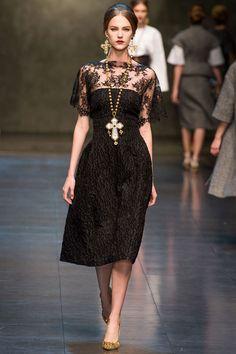 Le défilé Dolce & Gabbana automne-hiver 2013