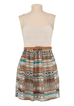 Maurices Print Dress | Win $50 to Maurices on www.lakeshorelady.com!