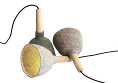Kristina Kjær : Strik and Fungus Lampshades, Fungi, Paintings, Lighting, Design, Art, Art Background, Lamp Shades, Mushrooms