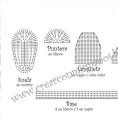 Archivo de álbumes Crochet Bebe, C2c, Album, Slipper, Words, Ideas Para, Crochet For Baby, Baby Things, Computer File