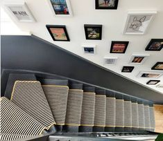 Stair runners can elevate a more subdued space (or even ground a louder one), while adding texture and softness underfoot. Here are nine ways to add a vertical statement rug. Staircase Runner, Stairs And Staircase, Carpet Stairs, Staircase Design, Stair Runners, Spiral Staircases, Staircase Makeover, Modern Staircase, House Stairs