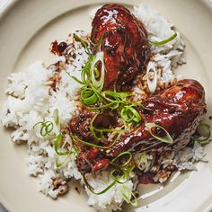 Depending on your personal preference, you can brush off and discard the peppercorns before cooking, or leave them on for stronger flavor. One of our food editors says this chicken adobo recipe is actually the greatest of all time.