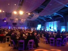 Gala Event with Lighting/Swags by Design Light