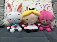 Alice No País Das Maravilhas Kit 3 Pelúcias 20 Cm #cute #love #toyzz #toyzzbrinquedos #pelucia #desenho #kids #criancas #brinquedos #amei #fofo #alice #wonderland https://www.toyzz.com.br