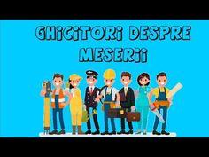 GHICITORI DESPRE MESERII - YouTube Learn English, Learning, Youtube, Learning English, Studying, Teaching, Youtubers, Youtube Movies, Onderwijs