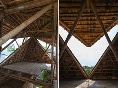 Affordable bamboo house that floats when it floods, revisited
