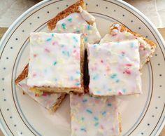 Tarta de confetti para hacer en casa