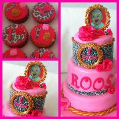 Tijger / roze taart