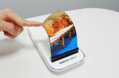 Samsung has shown the elastic display which bends extensively