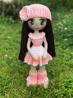 Amigurumi Dolls Crochet Hats Patterns by TanniasCraft on Etsy Have you been curious about free crochet patterns for 18 in doll clothing Amigurumi Doll Pattern, Crochet Amigurumi, Crochet Doll Pattern, Crochet Dolls, Crochet Patterns, Bunny Crochet, Easy Crochet, Crochet Baby, Free Crochet