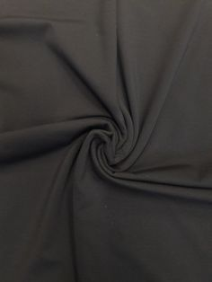 78d921c20d2 Image of Double Brushed Midnight Grey Yoga Jersey way- stretch) Poly Spandex