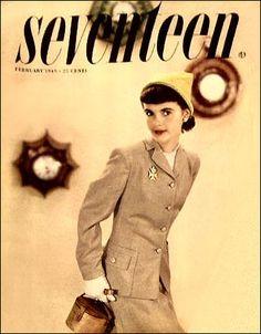 1949 - Seventeen Magazine cover, February