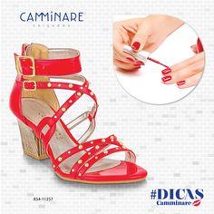 Combine as unhas com Camminare! ❤️   #camminare #combinecm #love #shoes #winter