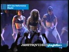 Janet Jackson - Medly: That's the Way Love Goes et. al.  (VMA performance)
