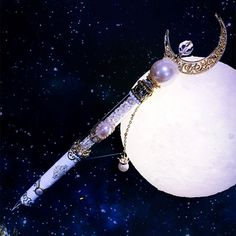 [Hand Made] Sailor Moon Princess Serenity Crystal Gel Pen SP165195