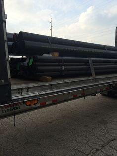 Here is a load of steel rods/pipe