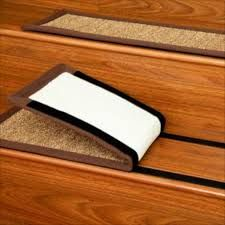 Image result for stairway ideas wood with tread carpet