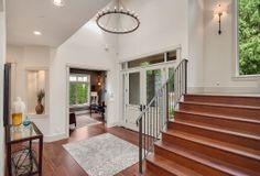 Enter into a spacious open floor plan ideal for entertaining.  Medina, WA Coldwell Banker BAIN $3,580,000