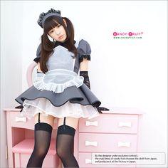 - CANDYFRUIT --Made in japan kawaii made outfits online shop -- Victorian Maid, Maid Cosplay, Maid Outfit, French Maid, Sissy Maid, Costume Shop, No Frills, Harajuku, Kawaii