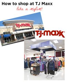 tj maxx shopping guide