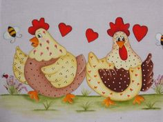 Hobby Room Office - Hobby Lobby Kids - Unique Hobby Ideas - Creative Hobby For Women - Hobby Quotes Indonesia Quilt Block Patterns, Applique Patterns, Applique Quilts, Applique Designs, Craft Patterns, Chicken Crafts, Chicken Art, Sewing Crafts, Sewing Projects